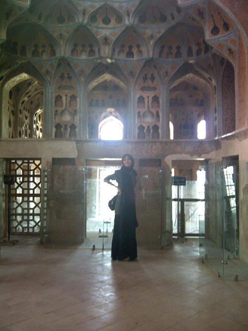 Il palazzo reale di Isfahan - Iran