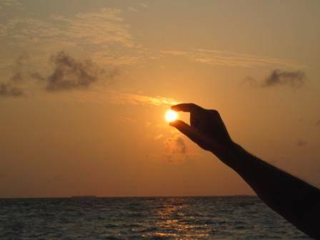 Il sole delle Maldive