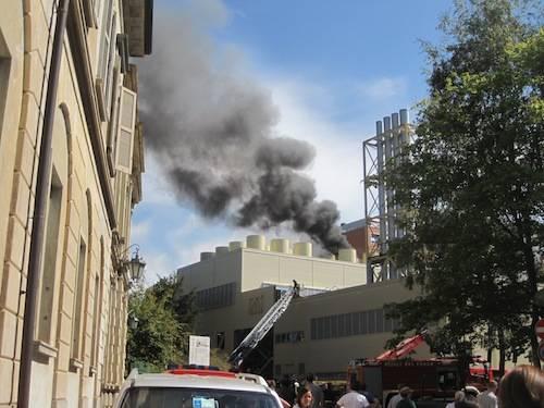 incendio ospedale varese 2011 galleria 3