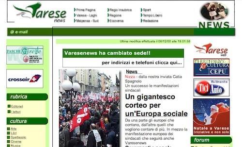 prime pagine giornali 2011