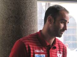 giocatori cimberio incentro Diego Fajardo