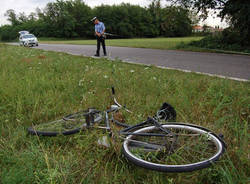 incidente investimento ciclista olgiate olona settembre 2011