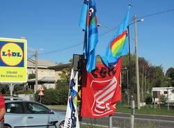 caronno pertusella Ims presidio sciopero lavoratori