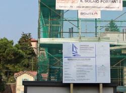 geometri scuola architettura edilizia sostenibile cantiere cassano magnago