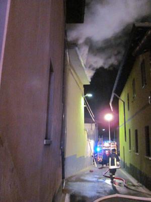 incendio sumirago ottobre 2011