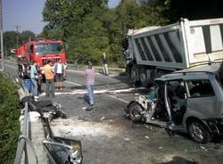incidente somma lombardo ottobre 2011