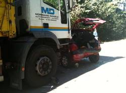 incidente somma lombardo tamponamento a catena 7 ottobre 2011