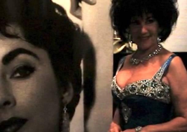 Marina Castelnuovo sosia di Liz Taylor