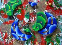 mostra artigianato artistico ville ponti 2011 tricolore decorazioni