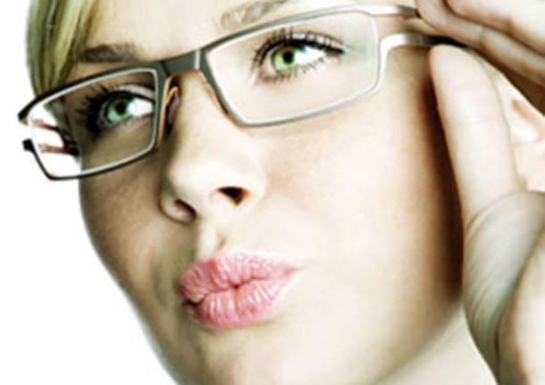 occhiali donna con occhiali ville ponti apertura