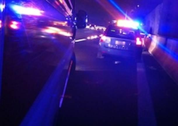 incidente stradale castellanza notturno notte 118 ambulanza polizia