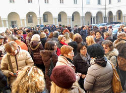 protesta lavoratori comune busto arsizio novembre 2011