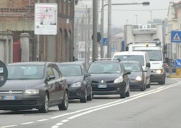 traffico gallarate incidente novembre 2011