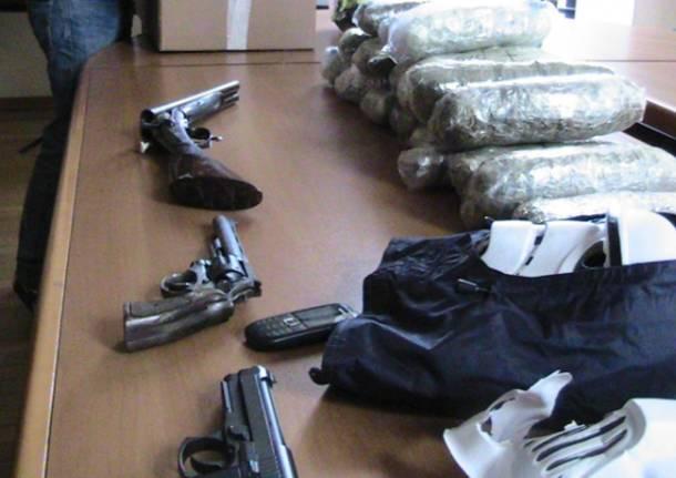 Droga e armi a Turbigo/1 (inserita in galleria)