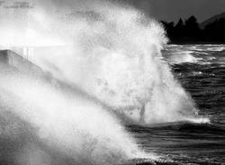 Lago Maggiore in tempesta (inserita in galleria)