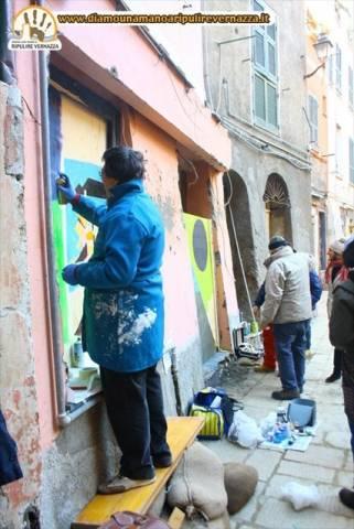 Artisti a Vernazza (inserita in galleria)