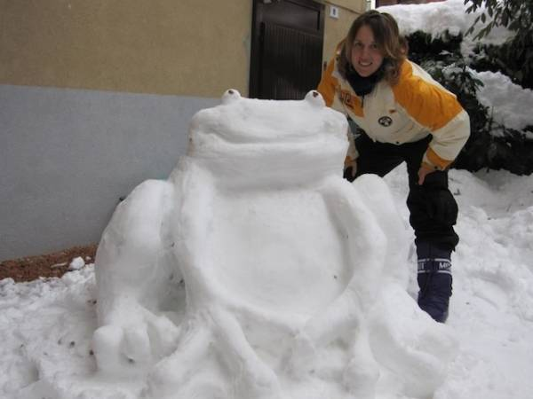 Artisti della neve (inserita in galleria)