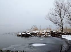 Cazzago, Giazér e lago sotto la neve (inserita in galleria)