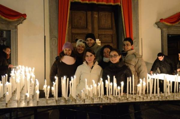 Falò di sant'Antonio/7 (inserita in galleria)