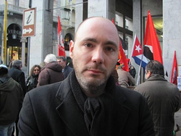 Fds protesta a Varese contro il governo  (inserita in galleria)