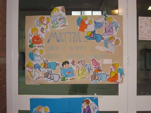 In campo per Mattia (inserita in galleria)