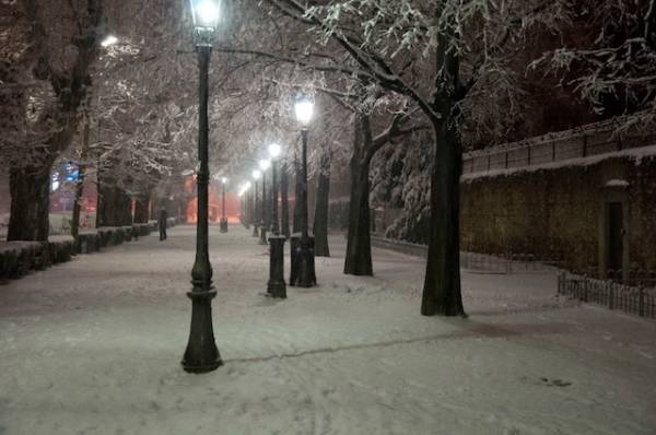 Le foto scelte della neve (inserita in galleria)