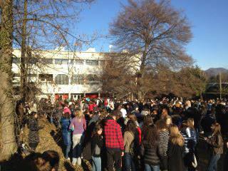 Le scuole evacuate nel Varesotto (inserita in galleria)
