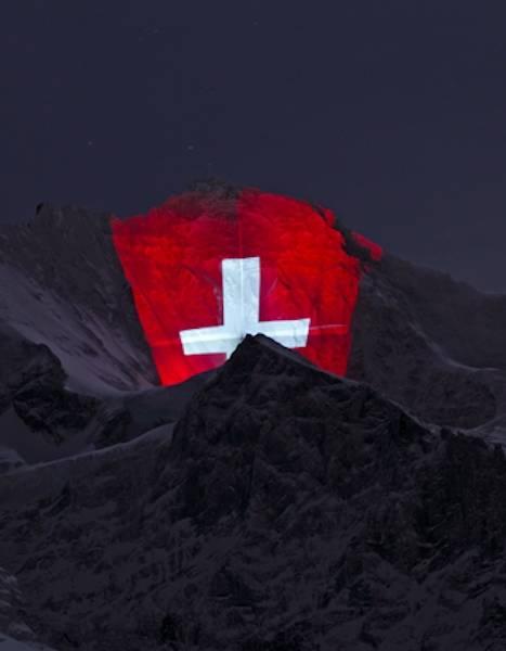 montagna maxischermo