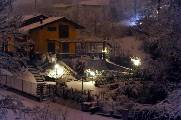 Nevicata a Lissago (inserita in galleria)