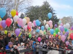 Sant'Antonio: il lancio dei palloncini (inserita in galleria)