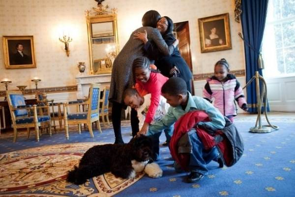 Animali alla Casa Bianca (inserita in galleria)