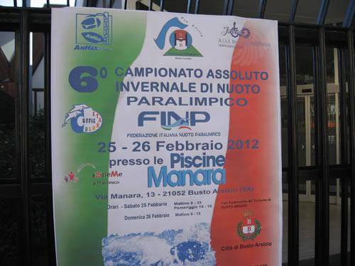 Campionato di nuoto paralimpico (inserita in galleria)