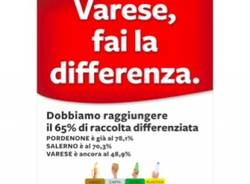"Cartellino giallo, rosso, verde per ""Varese, Fai la differenza"" (inserita in galleria)"