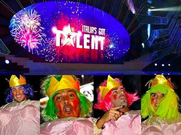 I Borotalko ad Italia's got talent (inserita in galleria)
