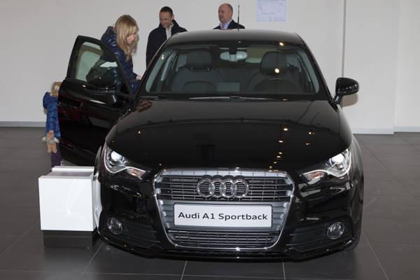 """La """"piccola"""" Audi che fa scintille (inserita in galleria)"""