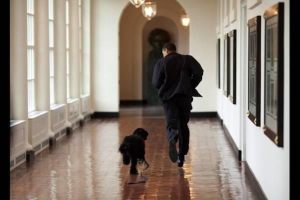 La tenerezza di Obama e la sua famiglia (inserita in galleria)