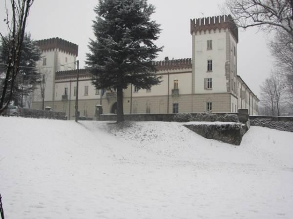 Neve a Castiglione e Tradate (inserita in galleria)