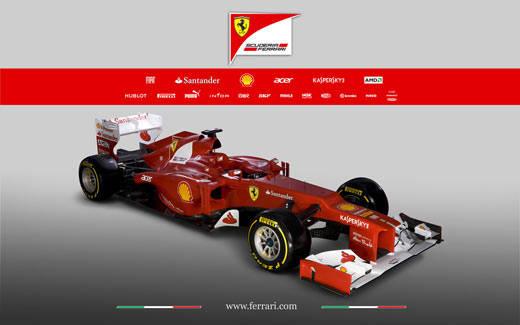 Nuova Ferrari F2012 (inserita in galleria)