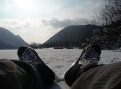 pattinare sul lago