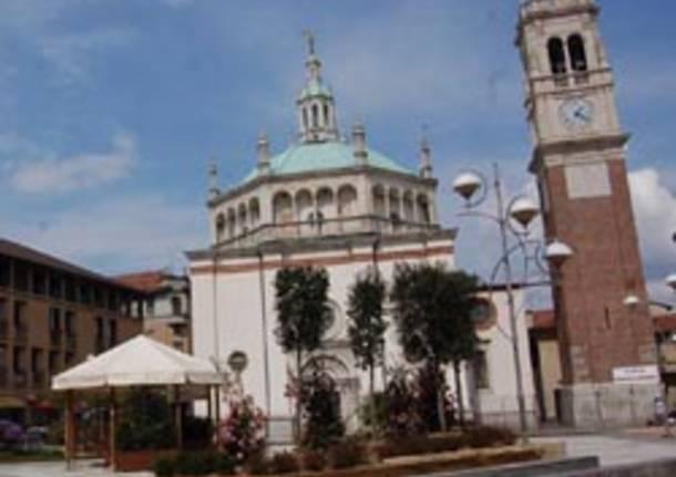 chiesa piazza santa maria busto arsizio apertura