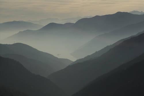 Foschie sui monti