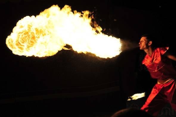 La magia del fuoco