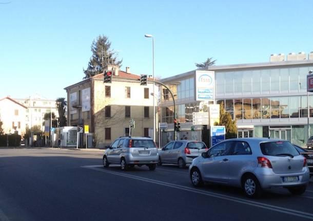 Largo Flaiano prima della Vela (inserita in galleria)