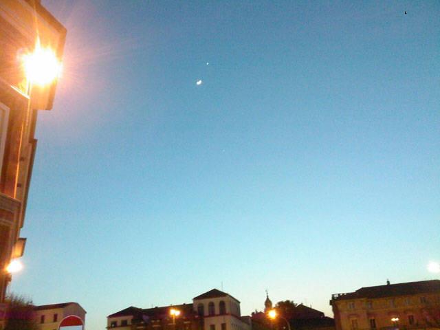 Luci e stelle su Varese