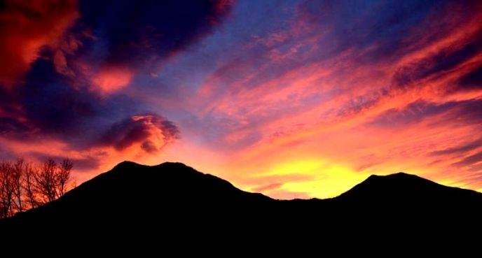 tramonto mozzafiato