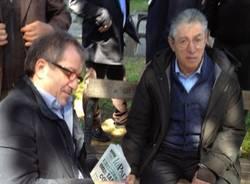 Bossi e Maroni a Besozzo (inserita in galleria)