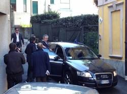 Bossi incontra la stampa (inserita in galleria)