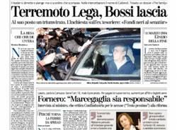 Bossi si è dimesso (inserita in galleria)