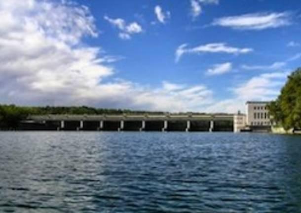 diga porto della torre somma lombardo ticino apertura