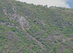 Frana al Sasso del Ferro (inserita in galleria)